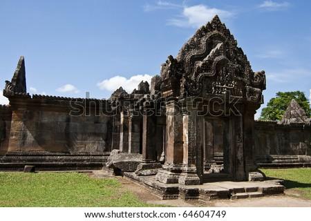 Preah Vihear Temple, Cambodia - stock photo