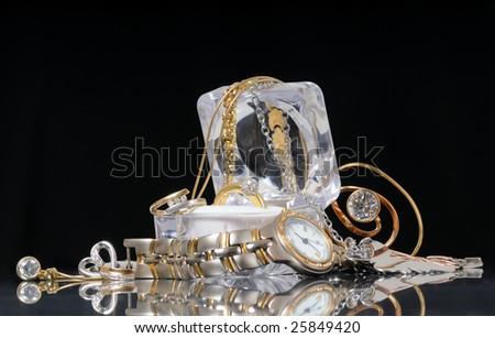 precious accessories - stock photo