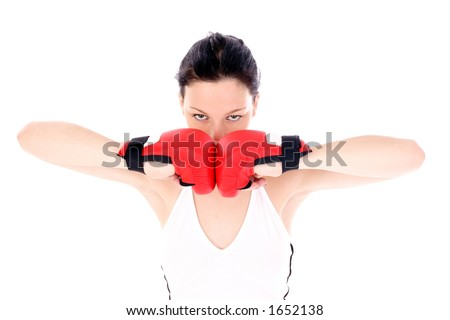 preparation for match - stock photo