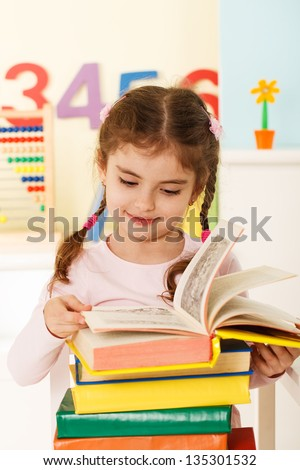 preschool education - stock photo