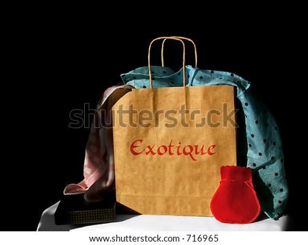 Present Bag - stock photo