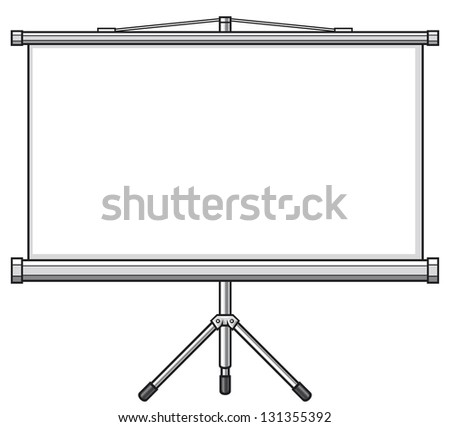 presentation or projector screen