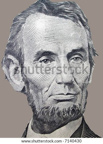 President Lincoln - stock photo