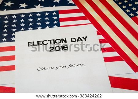 Presidential elections 2016 in USA - stock photo