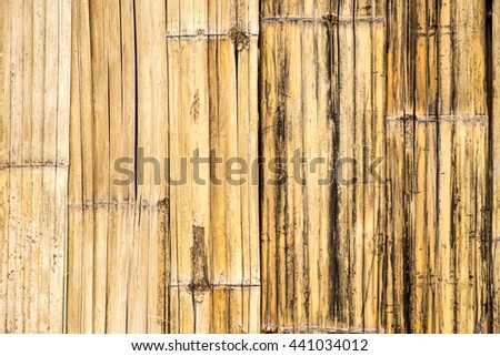 pressed bamboo board natural wooden background. used for background or material design.   - stock photo