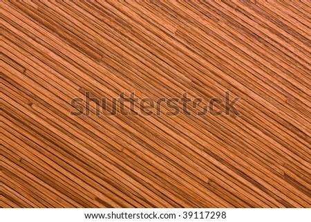 Pressed bamboo texture. - stock photo