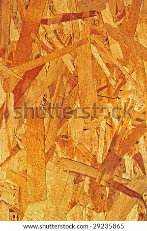 Pressed Plywood Background - stock photo