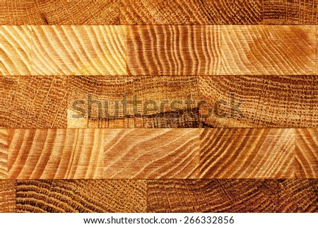 Pressed porous wooden boards of different wood background - stock photo