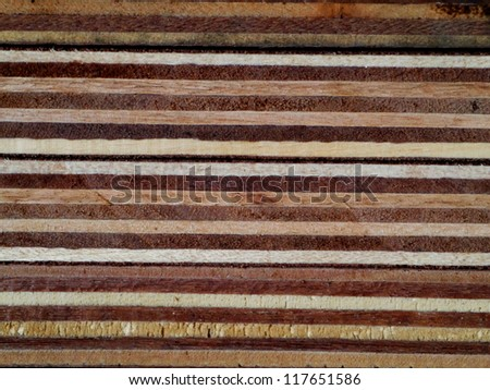 Pressed wooden - stock photo