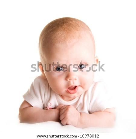 Pretty baby - stock photo