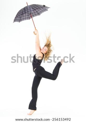 Pretty Woman Ballet Model  - stock photo