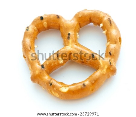 Pretzel Isolated on White Background