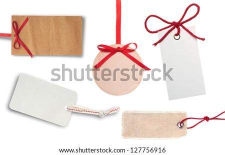 Price tags - stock photo