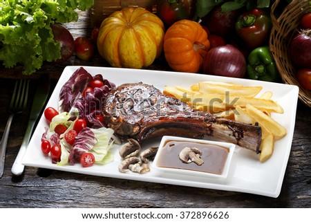Prime rib - stock photo