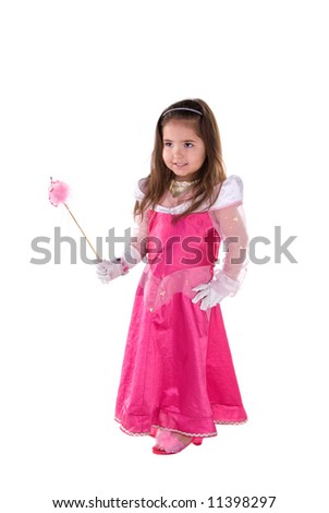 Princess girl. - stock photo