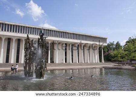 PRINCETON, NJ   SEP 10: Princeton University Art Museum In Princeton, NJ On