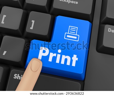 print button