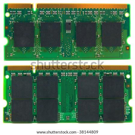 printed circuit - stock photo