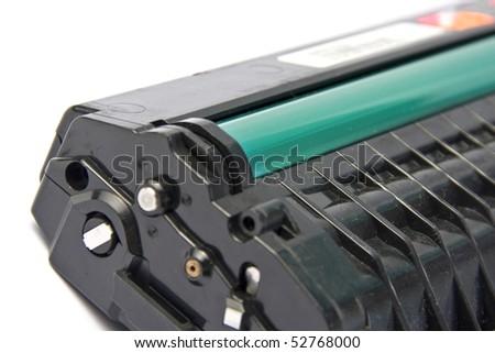 Printer cartridge. - stock photo