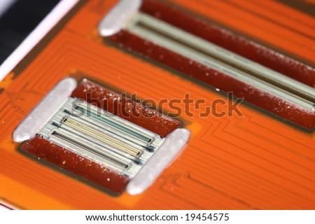 printhead's closeup - stock photo