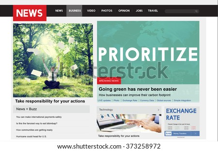 Prioritize Rank Important Issues Order Urgency Concept - stock photo