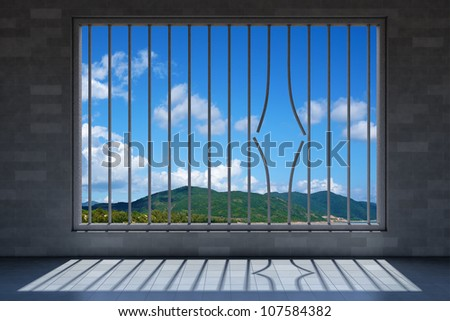 prison - stock photo