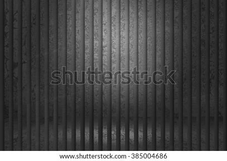 Prison Iron Bars Background - stock photo