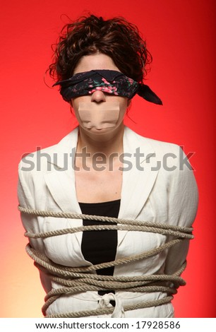prisoner - stock photo