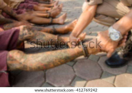 Retributions Stock Images, Royalty-Free Images & Vectors ... Pictures Of Prisoners In Chains