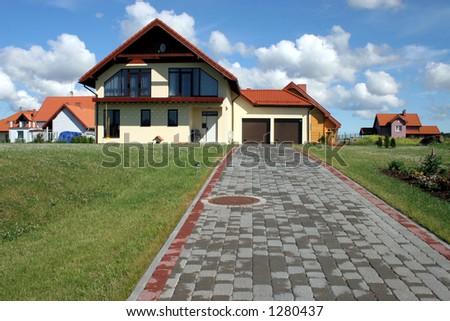 private home - stock photo