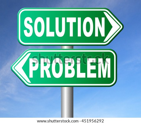 Solved Stamp Solution To Problem Challenge Overcome Stock ... |Problem Solved Sign