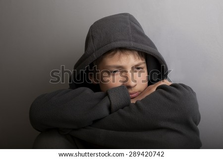 problems of teenagers - stock photo