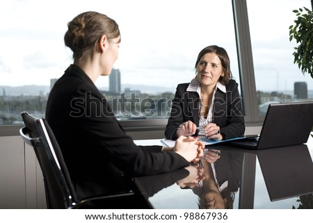 Problems with bank loan - stock photo