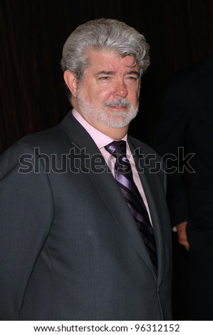 Producer/director GEORGE LUCAS at the 9th Annual Hollywood Awards Gala at the Beverly Hilton Hotel.  October 24, 2005 Beverly Hills, CA.  2005 Paul Smith / Featureflash