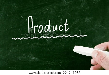 product concept - stock photo