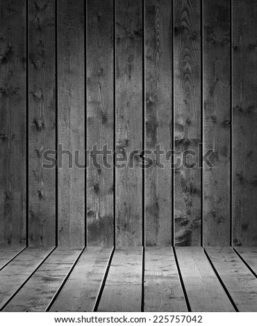 Product photo template Grey Wood plank background