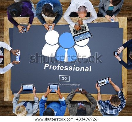 Professional Ability Skilled Expertise Proficiency Concept - stock photo