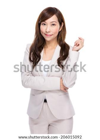 Professional businesswoman - stock photo