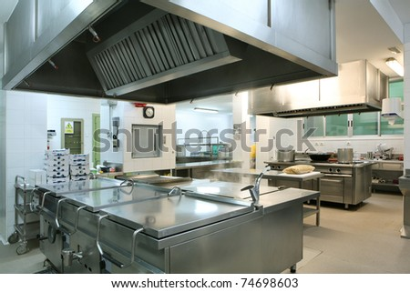 Professional kitchen - stock photo
