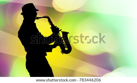 professional saxophonist close up