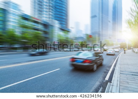 professional use auto advertising backplate - stock photo