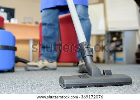 Professional vacuum cleaner - stock photo