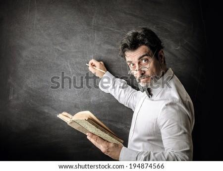 professor - stock photo