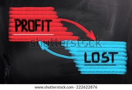Profit Concept - stock photo