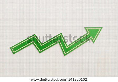 profit loss chart on graph paper
