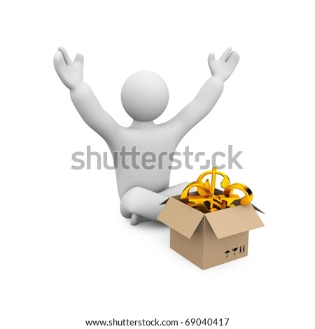 Profit or prize - stock photo