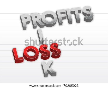 Profits risk and loss
