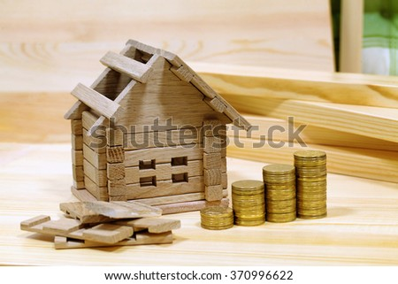 Project cozy house. Money for the building and details of the new building.