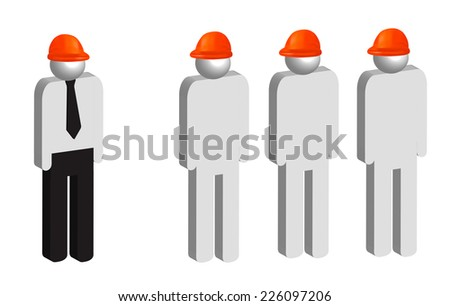 Project manager and associates  - stock photo