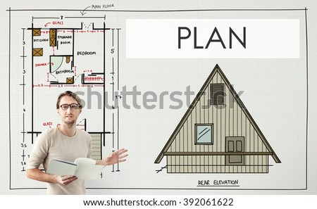 Project Plan Strategy Estimate Collaboration Job Concept